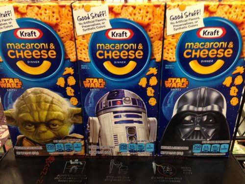 Kraft Macaroni & Cheese Dinner - Star Wars Shapes
